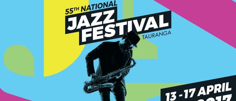 Tauranga Jazz Festival 2017 logo